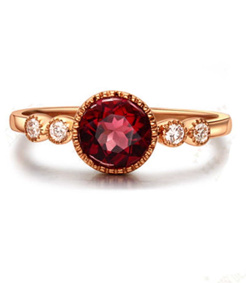 inspired petal ruby red engagement nature rings jewelry vintage marquise with ring rose rg nl antique gold diamond in