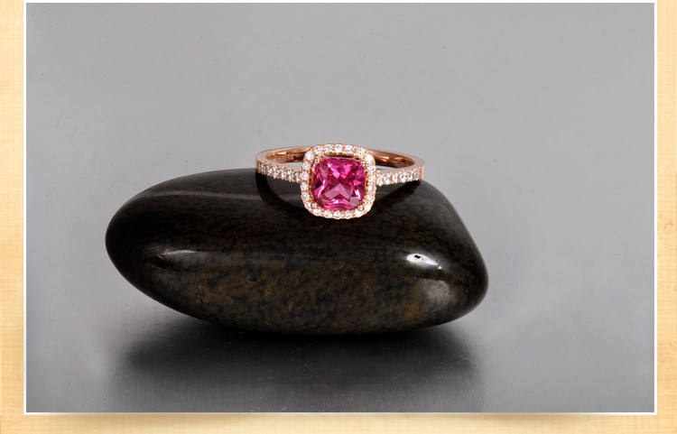 1 50 Carat Cushion Cut Ruby And Diamond Engagement Ring