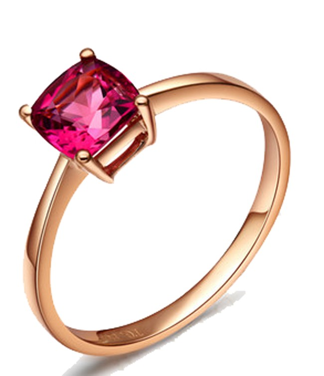 sapphire pink carat solitaire engagement in rose gold ring rings gemstone