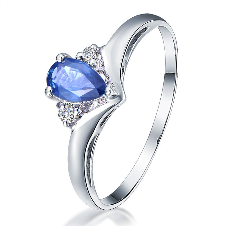for bands with cheap rg engagement and set her of sapphire nl excelent in him halo cut band cushion rose ring baguette diamond gold matching design medium size blue wedding dress