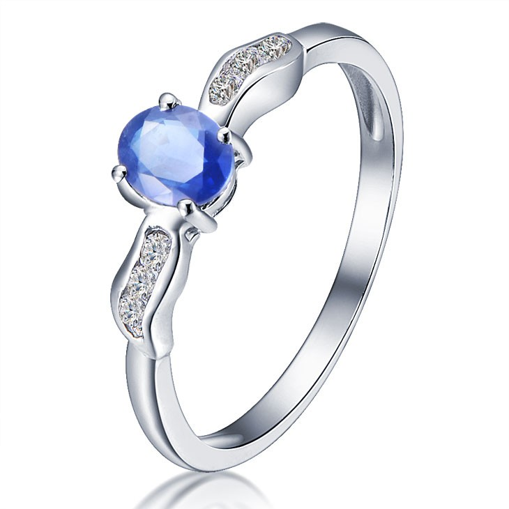 ring with knowledgeable size sets image sapphire of full rings forever concept blue diamond cheap cz black wedding