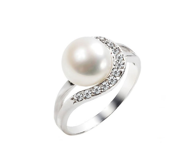 rings wedding diamond gold promise vintage pearl engagement ring