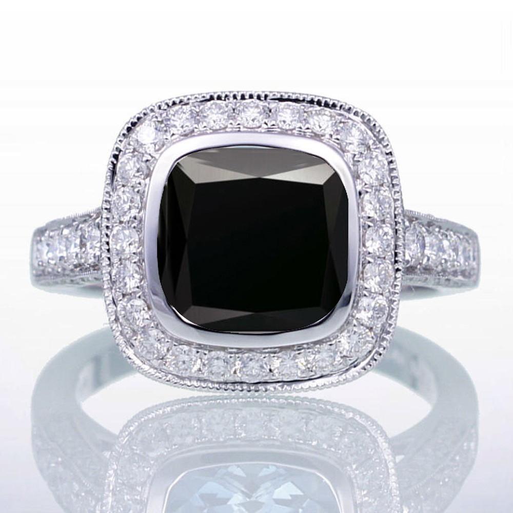 5 Carat Black Diamond Engagement Rings Ringscladdagh