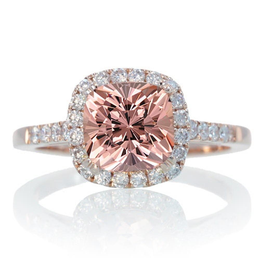 Rose Diamond Engagement Rings Ringscladdagh
