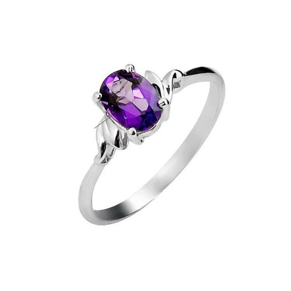 diamond rings oval amethyst ring engagement unusual cut