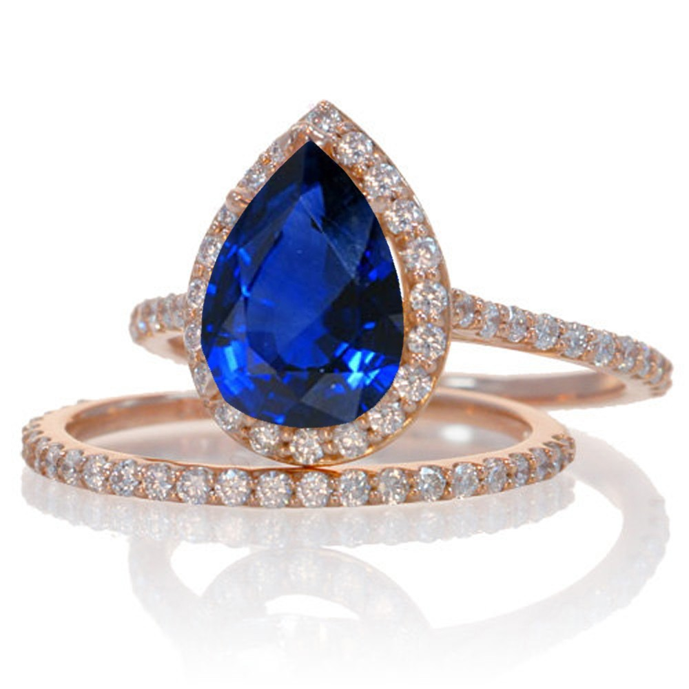 store gold en sapfir rose diamond product with goldsmith ring sapphire