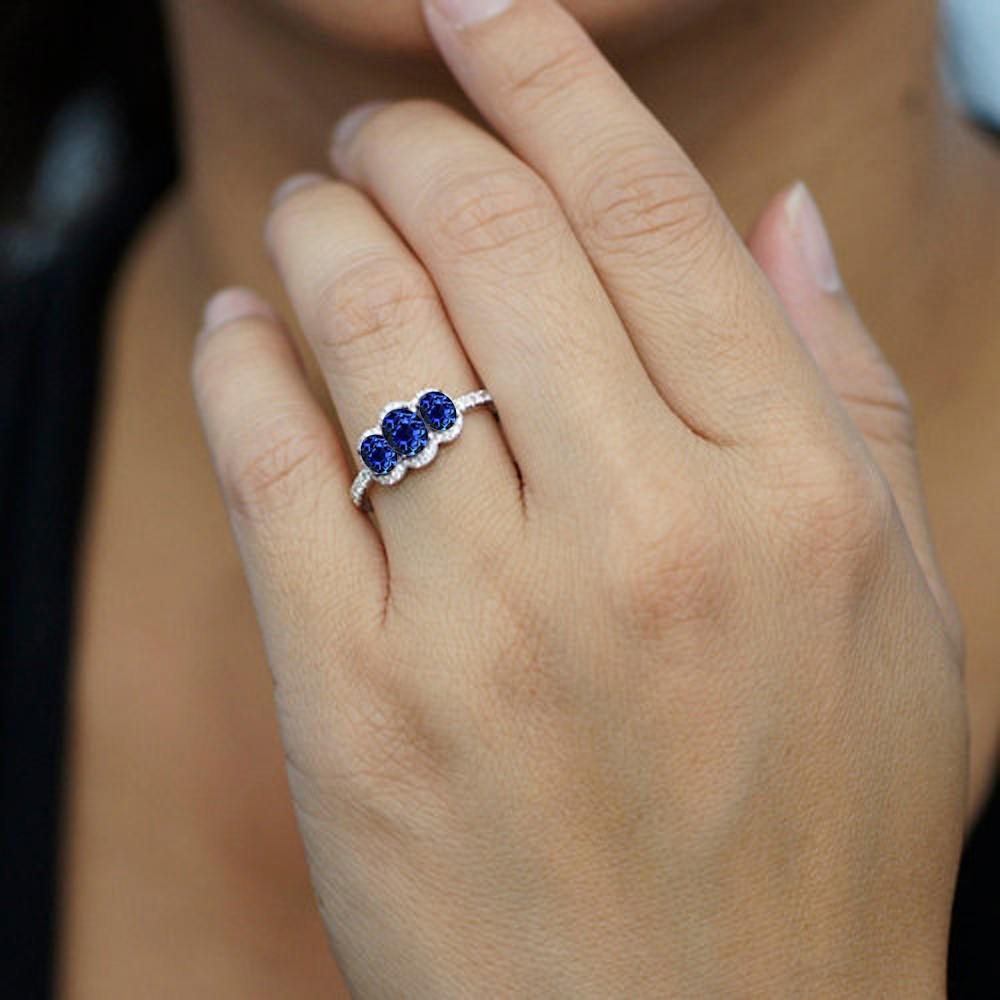small sapphire of spectacular anyone ring attachment stone rings with carat engagement