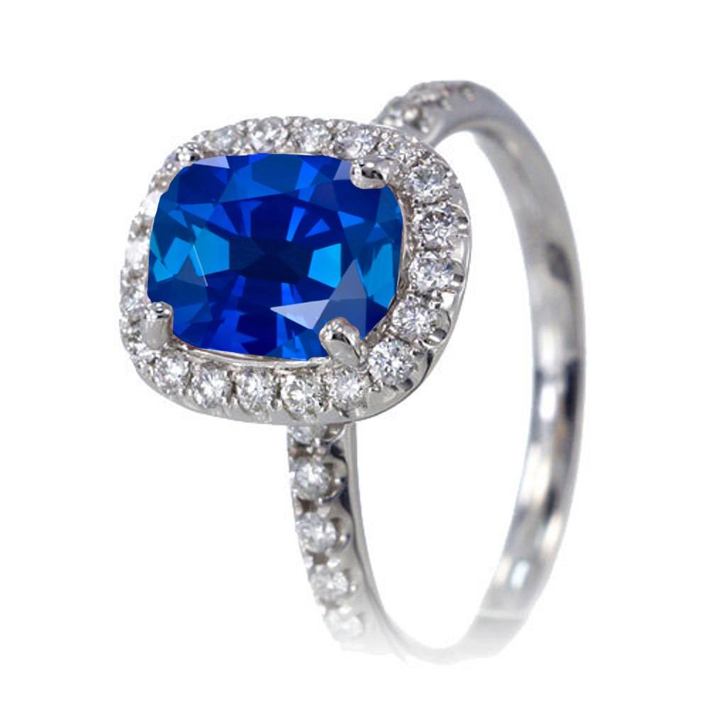 Unique Sapphire Wedding Rings