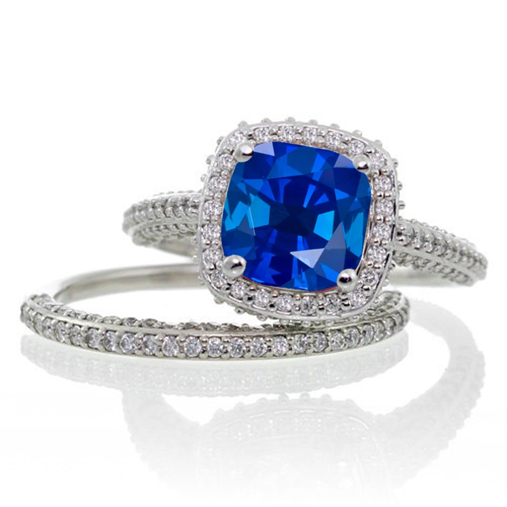 engagement in diamond ring amp for sapphire platinum pave p and shop rings pav