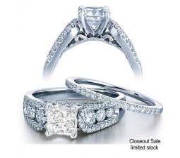 2 Carat Diamond Bridal Set on Closeout Sale