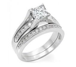 1 Carat Diamond Wedding Set on Sale