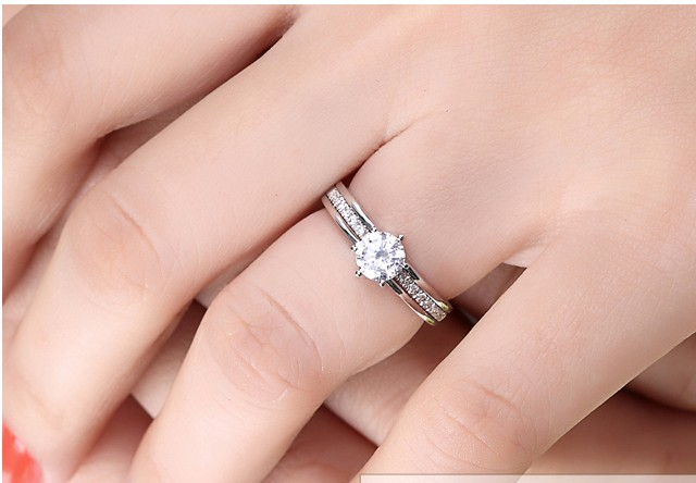 unique 12 carat diamond bridal set on sale - 2 Carat Wedding Ring